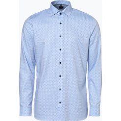 OLYMP No. Six - Koszula męska łatwa w prasowaniu, niebieski. Niebieskie koszule męskie non-iron marki OLYMP No. Six, m. Za 249,95 zł.
