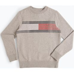 Odzież: Tommy Hilfiger - Chłopięca bluza nierozpinana, szary