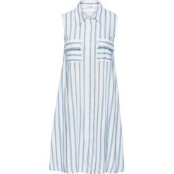 Sukienki: Sukienka bonprix biało-jasnoniebieski w paski
