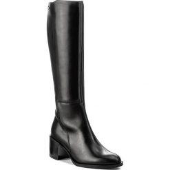 Kozaki SOLO FEMME - 24711-02-G85/000-01-00 Czarny. Czarne buty zimowe damskie marki Solo Femme, z polaru. W wyprzedaży za 349,00 zł.