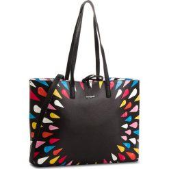 Torebka DESIGUAL - 18WAXP32  2000. Szare torebki klasyczne damskie marki Desigual, l, z tkaniny, casualowe, z długim rękawem. W wyprzedaży za 249,00 zł.
