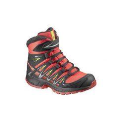 Śniegowce Dziecko Salomon  Buty  XA Pro 3D Winter TS CSWP K 378426. Brązowe buty zimowe chłopięce Salomon. Za 199,40 zł.
