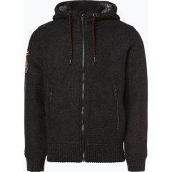 Superdry - Kardigan męski, czarny. Czarne swetry rozpinane męskie Superdry, l, z dzianiny. Za 589,95 zł.