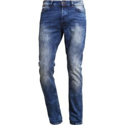 Only & Sons ONSLOOM SLIM FIT Jeansy Slim Fit medium blue denim. Brązowe jeansy męskie marki Only & Sons, l, z poliesteru. Za 209,00 zł.