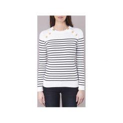 Swetry Petit Bateau  FOUKO. Białe swetry klasyczne damskie Petit Bateau, m. Za 343,20 zł.