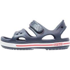 Crocs CROCBAND II  Sandały kąpielowe navy/white. Niebieskie sandały chłopięce marki Crocs, z gumy. Za 129,00 zł.