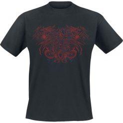 T-shirty męskie: Twin Dragon T-Shirt czarny