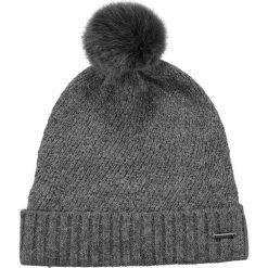 Barts - Czapka Amaranth. Brązowe czapki zimowe damskie marki Barts, na zimę, z dzianiny. W wyprzedaży za 89,90 zł.