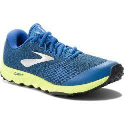 Buty BROOKS - PureGrit 7 110291 1D 492 Blue/Lime/Black. Niebieskie buty do biegania męskie Brooks, z materiału. W wyprzedaży za 329,00 zł.