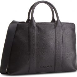 Torebka CALVIN KLEIN - Race Tote K60K604882 001. Czarne torebki klasyczne damskie marki Calvin Klein, ze skóry ekologicznej, duże, zdobione. Za 699,00 zł.