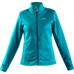 Bluzy sportowe damskie: Brugi Bluza damska 2ND1-382 Azzurro r. L