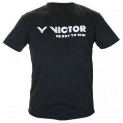 T-shirty damskie: Victor Koszulka Unisex 6673 Black S