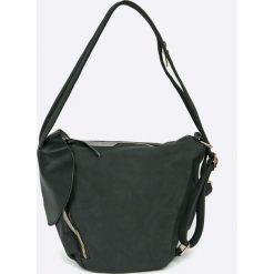 Answear - Torebka. Czarne torebki klasyczne damskie ANSWEAR, z materiału, średnie. W wyprzedaży za 69,90 zł.