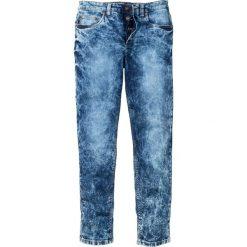 """Dżinsy ze stretchem Slim Fit Straight bonprix Niebieski """"stone"""" Used. Niebieskie jeansy męskie relaxed fit bonprix, z jeansu. Za 139,99 zł."""
