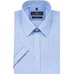 Koszula SIMONE KKNR000005. Brązowe koszule męskie na spinki marki QUECHUA, m, z elastanu, z krótkim rękawem. Za 199,00 zł.