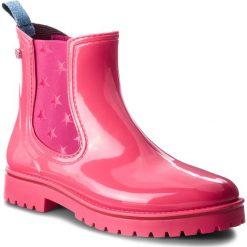 Kalosze TRUSSARDI JEANS - 79A00285 R130. Czerwone kalosze damskie Trussardi Jeans, z jeansu. Za 469,00 zł.
