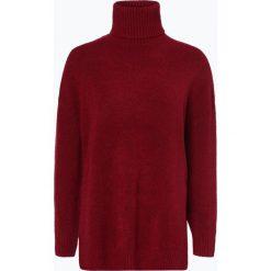 Tommy Jeans - Sweter damski, czerwony. Czerwone swetry klasyczne damskie Tommy Jeans, l, z dzianiny. Za 449,95 zł.