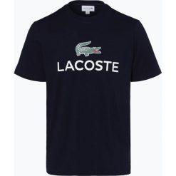 Lacoste - T-shirt męski, niebieski. Niebieskie t-shirty męskie Lacoste, l, z napisami. Za 199,95 zł.