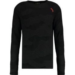 Swetry klasyczne męskie: Key Largo EXIT  Sweter black