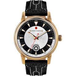 """Zegarki męskie: Zegarek kwarcowy """"Nereus"""" w kolorze czarno-złoto-białym"""