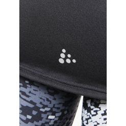 Craft Koszulka sportowa black melange/platinum. Czarne topy sportowe damskie marki Craft, s, z elastanu. W wyprzedaży za 255,20 zł.