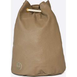 Mi-Pac - Plecak Gold Swing Bag - Tumbled Cream. Brązowe plecaki damskie Mi-Pac. W wyprzedaży za 99,90 zł.