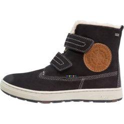 Lurchi DIEGO TEX Śniegowce atlantic. Czarne buty zimowe chłopięce marki Lurchi, z materiału. W wyprzedaży za 197,45 zł.