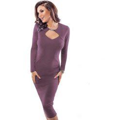 Odzież damska: Sukienka Enny w kolorze fioletowym