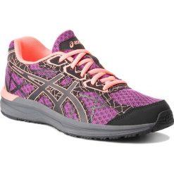 Buty ASICS - Endurant T792N  Dark Purple/Black/Flash Coral. Fioletowe buty do biegania damskie Asics, z materiału. W wyprzedaży za 149,00 zł.