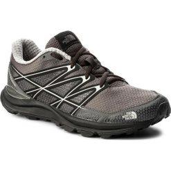 Buty THE NORTH FACE - Litewave Endurance T92VVJTTE Dark Gull Grey/Foil Grey. Szare buty do biegania damskie marki The North Face, z gumy. W wyprzedaży za 269,00 zł.