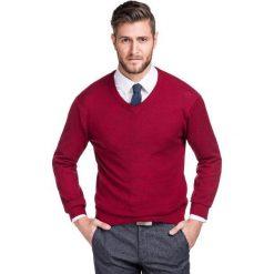 Sweter FABRIZIO SWTR000140. Czarne swetry klasyczne męskie marki Polo Club C.H..A, m, dekolt w kształcie v. Za 149,00 zł.