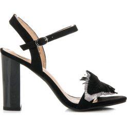 Sandały damskie: Sandały na słupku boho JULIET