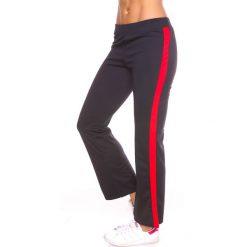 """Spodnie męskie: Spodnie dresowe """"Levi"""" w kolorze czarno-czerwonym"""