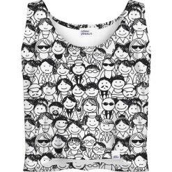 Colour Pleasure Koszulka damska CP-035 137 czarno-biała r. M/L. Białe bluzki damskie Colour pleasure, l. Za 64,14 zł.