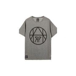T-shirt Circle Gray. Szare t-shirty męskie z nadrukiem Harp Team, l, z materiału. Za 49,00 zł.