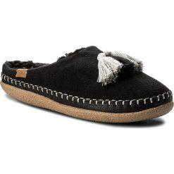 Kapcie damskie: Kapcie TOMS – Ivy 10010879 Black Wool/Tassels