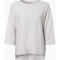 Swetry oversize damskie: iheart – Sweter damski z dodatkiem kaszmiru – Lotta, szary