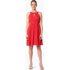 Marie Lund - Damska sukienka koktajlowa, różowy. Niebieskie sukienki balowe marki Marie Lund, z szyfonu. Za 499,95 zł.