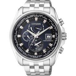 ZEGAREK CITIZEN Radio Controlled AT9030-55L. Niebieskie zegarki męskie CITIZEN, ze stali. Za 2290,00 zł.
