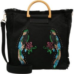 Shopper bag damskie: Topshop PARROT SHOPPER Torba na zakupy black
