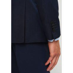 Sisley Marynarka dark blue. Niebieskie marynarki męskie slim fit Sisley, z materiału. Za 499,00 zł.