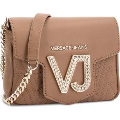 Torebka VERSACE JEANS - E1VSBBI2 70784 723. Brązowe torebki klasyczne damskie Versace Jeans, z jeansu. Za 649,00 zł.