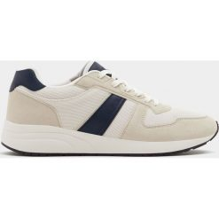 Buty męskie: Buty sportowe z łączonych materiałów z kontrastowym pasem