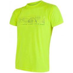 Sensor Koszulka Coolmax Fresh Pt Gps Yellow L. Żółte odzież termoaktywna męska marki Sensor, l, z krótkim rękawem, na fitness i siłownię. W wyprzedaży za 120,00 zł.