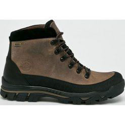 Badura - Buty. Czarne buty trekkingowe męskie marki Badura, z materiału, na sznurówki, outdoorowe. Za 329,90 zł.