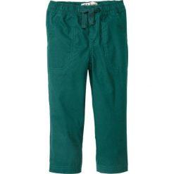 Odzież dziecięca: Spodnie z elastycznym paskiem, mocne i szybko schnące bonprix głęboki zielony