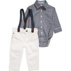 Carter's BOY HOLIDAY BABY SET  Jeansy Straight Leg ivory. Białe jeansy chłopięce Carter's. Za 139,00 zł.