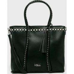 Nobo - Torebka. Czarne torebki klasyczne damskie marki Nobo, z materiału, duże. Za 249,90 zł.