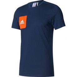 Adidas Koszulka męska Tiro 17 Tee granatowa r. XL (BQ2663). Niebieskie koszulki sportowe męskie marki Adidas, m. Za 93,20 zł.