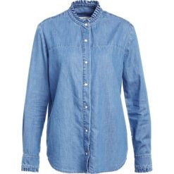 Koszule wiązane damskie: NORR AMY Koszula blue denim